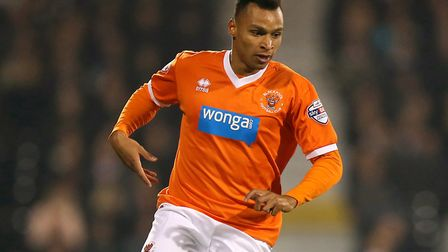 Jacob Murphy spent time on loan at Blackpool during 2014-15. Picture: Blackpool FC