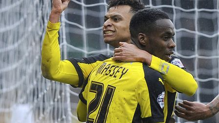 Jacob Murphy scored four goals in 11 games in League One for Colchester at the end of the 2014-15 se