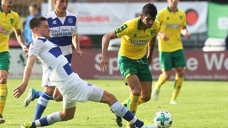 Nelson Oliveira has been touted with a summer move. Picture: Paul Chesterton/Focus Images Ltd