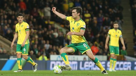 Jonny Howson has been linked with a move to Middlesbrough. Picture by Paul Chesterton/Focus Images L