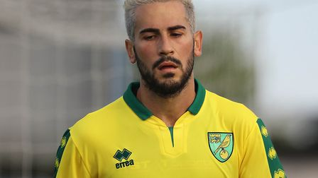 Mario Vrancic caught the eye on his first outing in a Norwich City shirt at Cobh. Picture: Lorraine