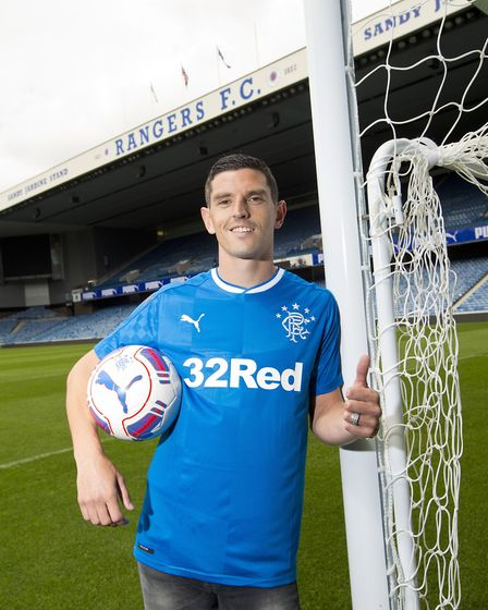 Graham Dorrans, who has signed for Rangers. Picture: PA