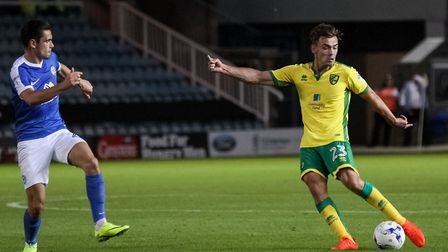 FA Youth Cup winner and left-back Harry Toffolo will hope to make his mark for Norwich City's first