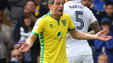 Norwich Citys Graham Dorrans has been touted with a move to Rangers this summer. Picture by Paul Che