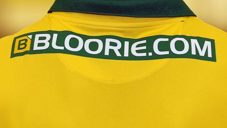 Norwich City have unveiled Brandon-based company Bloor International Enterprises as a new back-of-th