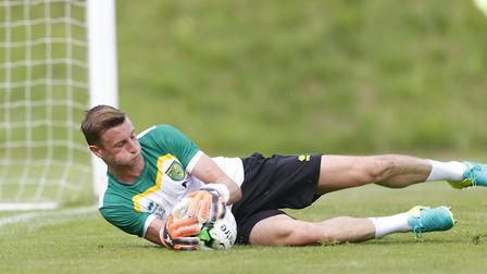 Declan Rudd cut his ties with Norwich for a new career at Preston. Picture: Archant