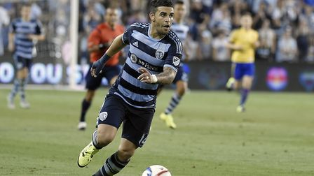 Ex-Norwich City and King's Lynn prospect Dom Dwyer is on the verge of a senior US debut. Picture: MI