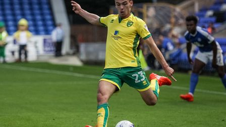 Harry Toffolo will battle with James Husband for City's left-back starting spot this season. Picture