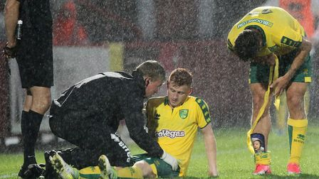 Harrison Reed came off injured during the second half at Stevenage. Picture: Paul Chesterton/Focus I