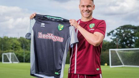 Norwich City new boy Marcel Franke. Picture: Jasonpix