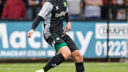 Marcel Franke made his pre-season debut for City. Picture by Liam McAvoy/Focus Images
