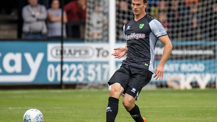 Christoph Zimmermann has played every minute of pre-season for Norwich so far. Picture by Liam McAvo