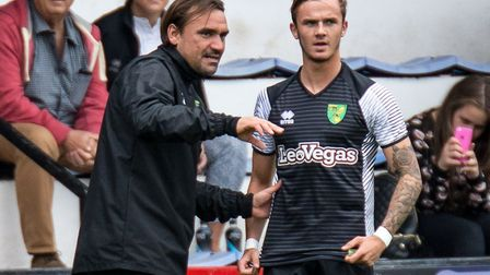 James Maddison feels he has already learned a great deal from City head coach Daniel Farke, showing
