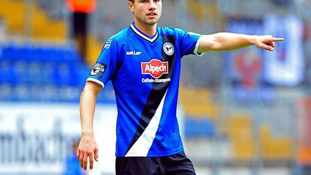 Arminia Bielefeld defender Julian Borner, who has been confirmed as the club's captain for the news