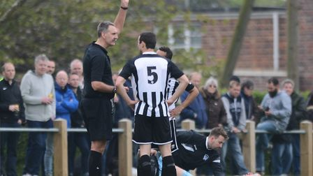Anglian Combination referee, for Division One and below, will also have to deal with sin bins this s