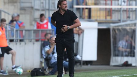 Daniel Farke is preparing Norwich City to Fulham on the opening weekend. Picture: Paul Chesterton/F