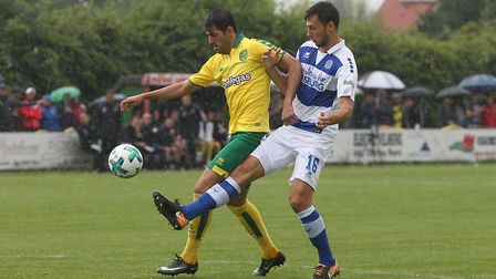 Nelson Oliveira has been in prolific pre-season goalscoring form. Picture: Paul Chesterton/Focus Ima