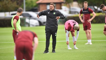 NCFC training at Colney. Picture : ANTONY KELLY