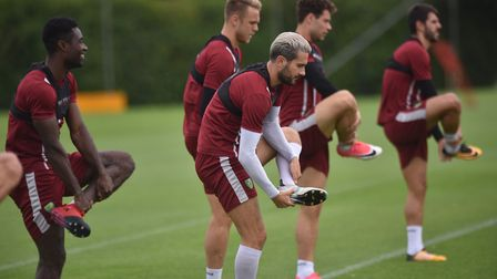 Boots and all at Colney.