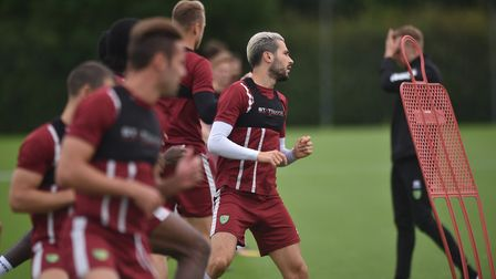 NCFC open training session at Colney. Picture : ANTONY KELLY