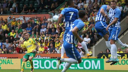 James Maddison was prominent in Norwich City's final pre-season outing. Picture: Paul Chesterton/Foc