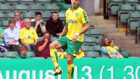 German defender Marcel Franke made his first Carrow Road appearance during City's friendly draw with