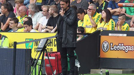Daniel Farke is yet to suffer a defeat as Norwich City head coach. Picture: Paul Chesterton/Focus Im