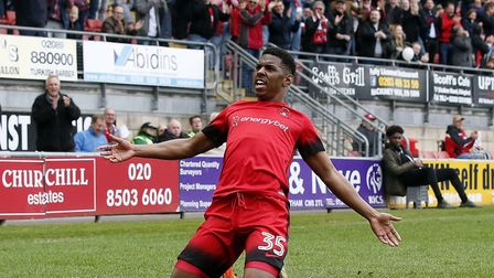 Tristan Abrahams in action for Leyton Orient. Picture: Simon O'Connor Photography