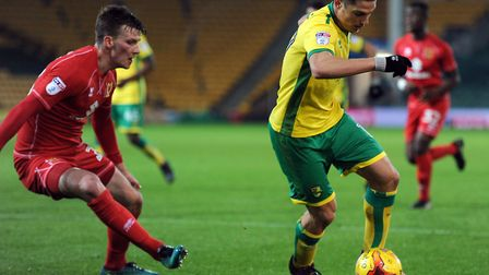 Sergi Canos is looking to kick on this season at Norwich City's Championship rivals Brentford. Pictu