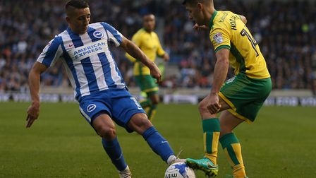 Anthony Knockaert was Brighton's star player in the Championship last season. Picture by Paul Cheste