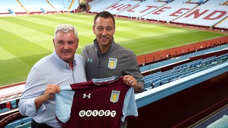 John Terry was an eye-catching signing for Aston Villa chief Steve Bruce. Picture: Aaron Chown/PA Wi