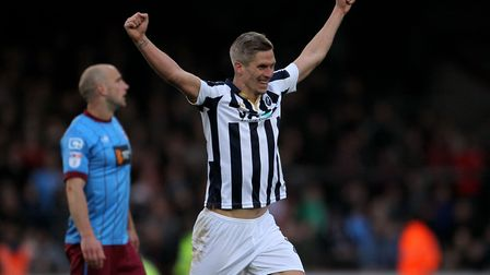 Steve Morison fire Millwall to the Championship via the play-offs: Picture: Richard Sellers/PA Wire.