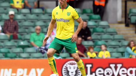 Christoph Zimmermann missed just one half of football during pre-season for Norwich City. Picture by