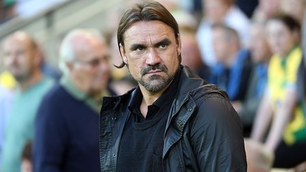 Daniel Farke takes his Norwich City side to Aston Villa this weekend. Picture: Paul Chesterton/Focus