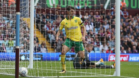 Nelson Oliveira notched in a second half cameo at Villa Park. Picture by Paul Chesterton/Focus Image