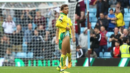Josh Murphy scored and created an assist at Villa Park. Picture: Paul Chesterton/Focus Images Ltd