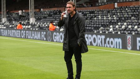 Daniel Farke wants to build on a positive draw at Fulham against Swindon. Picture: Paul Chesterton/F