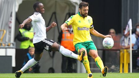 Russell Martin needed injections in a foot problem to face Fulham. Picture: Paul Chesterton/Focus Im
