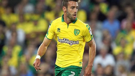 Ivo Pinto returns to the Norwich City starting line-up against Charlton. Picture: Paul Chesterton/Fo