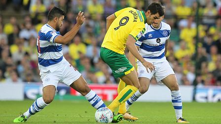 Nelson Oliveira got the nod ahead of Cameron Jerome and justified his place with a goal.
