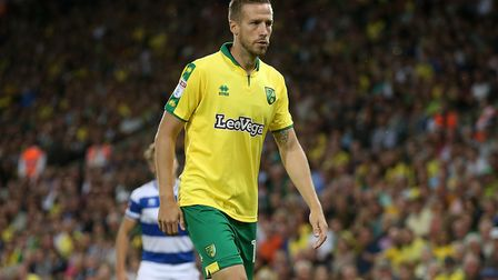 Marco Stiepermann made his Norwich City debut against QPR. Picture by Paul Chesterton/Focus Images L