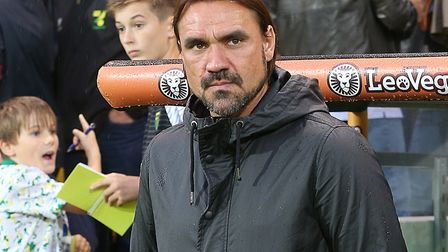 Head coach Daniel Farke will learn who his Norwich City side face in the second round of the Carabao