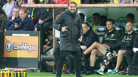 Daniel Farke wants Norwich to be aggressive in defensive situations. Picture: Paul Chesterton/Focus
