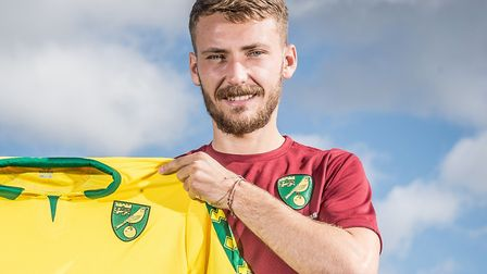 New Norwich City signing Tom Trybull. Picture: Jasonpix