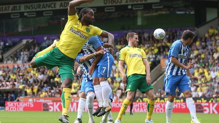 Will Cameron Jerome strike first for Norwich? The odds are 6-1 he will. Picture: Paul Chesterton/Foc