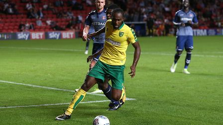Cameron Jerome is one of the survivors from Norwich City's last trip to Craven Cottage. Picture: Pau