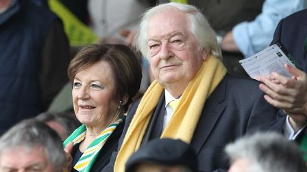 Norwich City's joint majority shareholders, Delia Smith and Michael Wynn-Jones, will be hoping the c