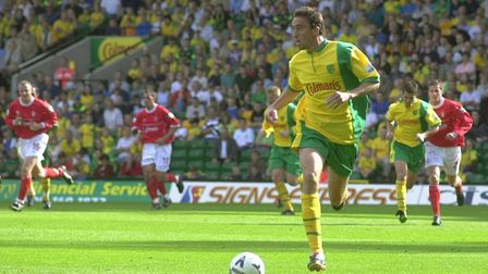 Former Dutch wide player Raymond de Waard had limited chances to impress at Norwich City. Picture: B