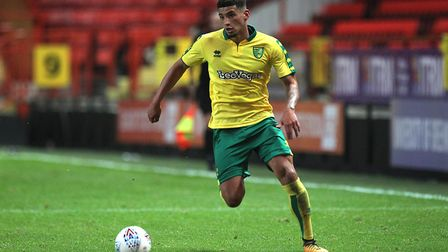 Ben Godfrey has signed a new longer term deal at Norwich City. Picture: Focus Images