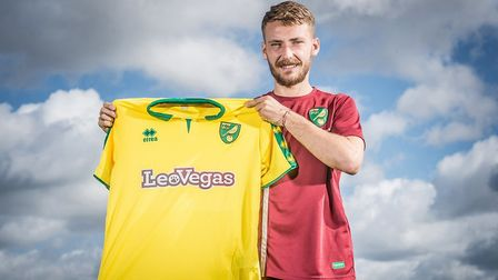 Norwich City signing, Tom Trybull. Picture: Norwich City FC official twitter account